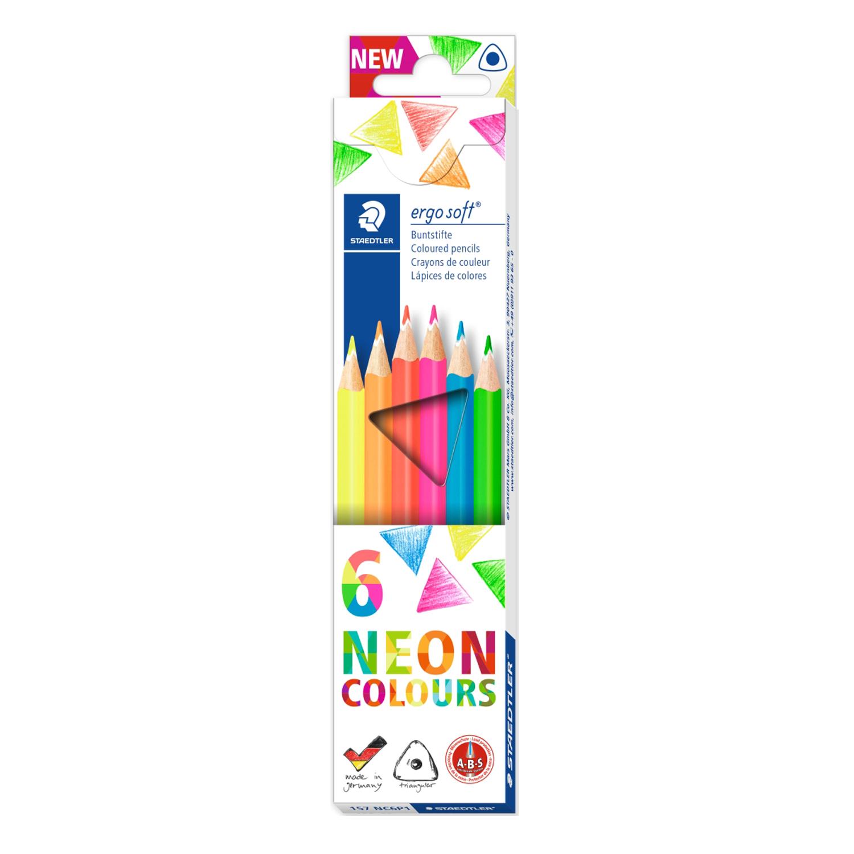 Creion color Ergo Soft Staedtler 6/set ST-157-C6P1