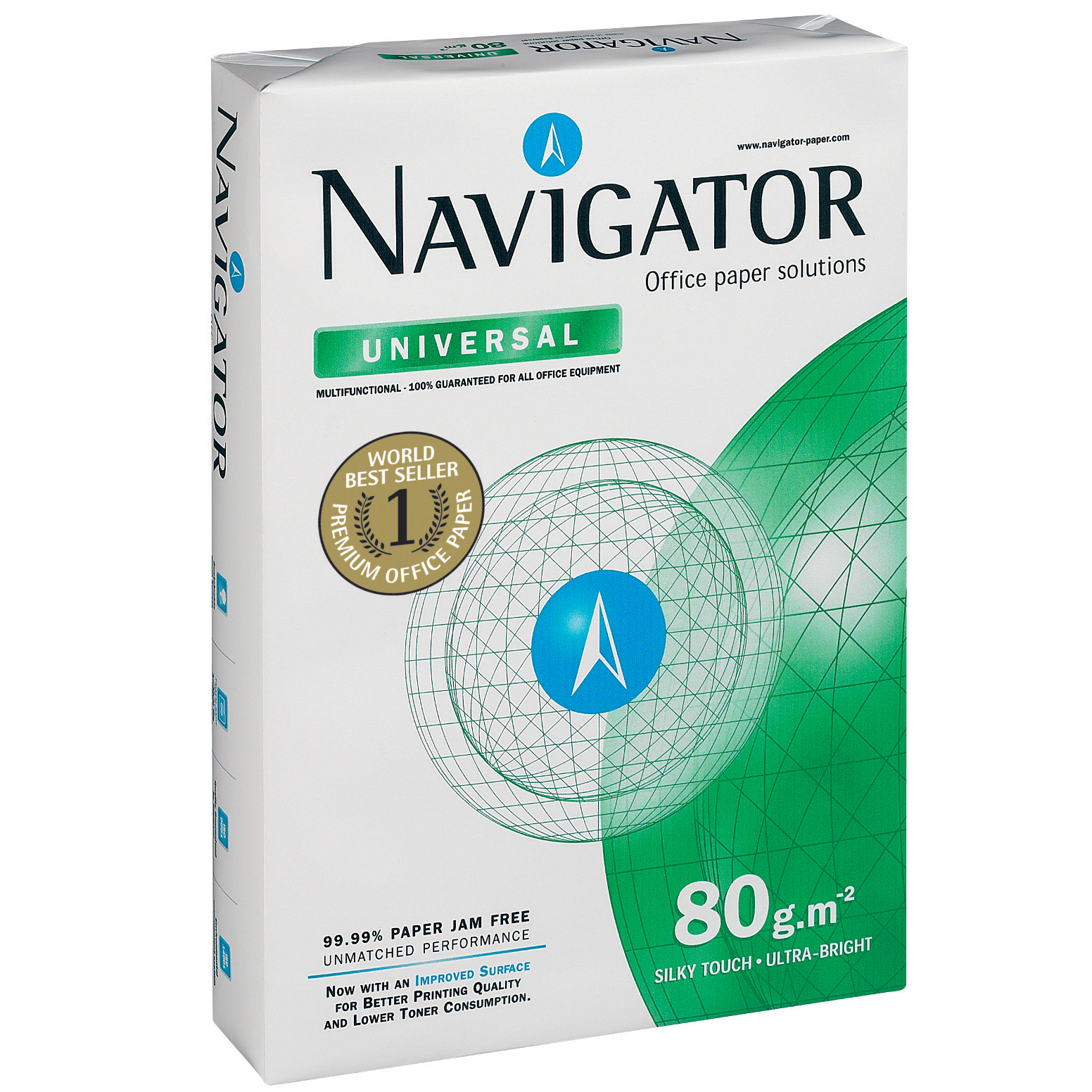 Hartie copiator Navigator A4 80g/mp 500coli/top 484