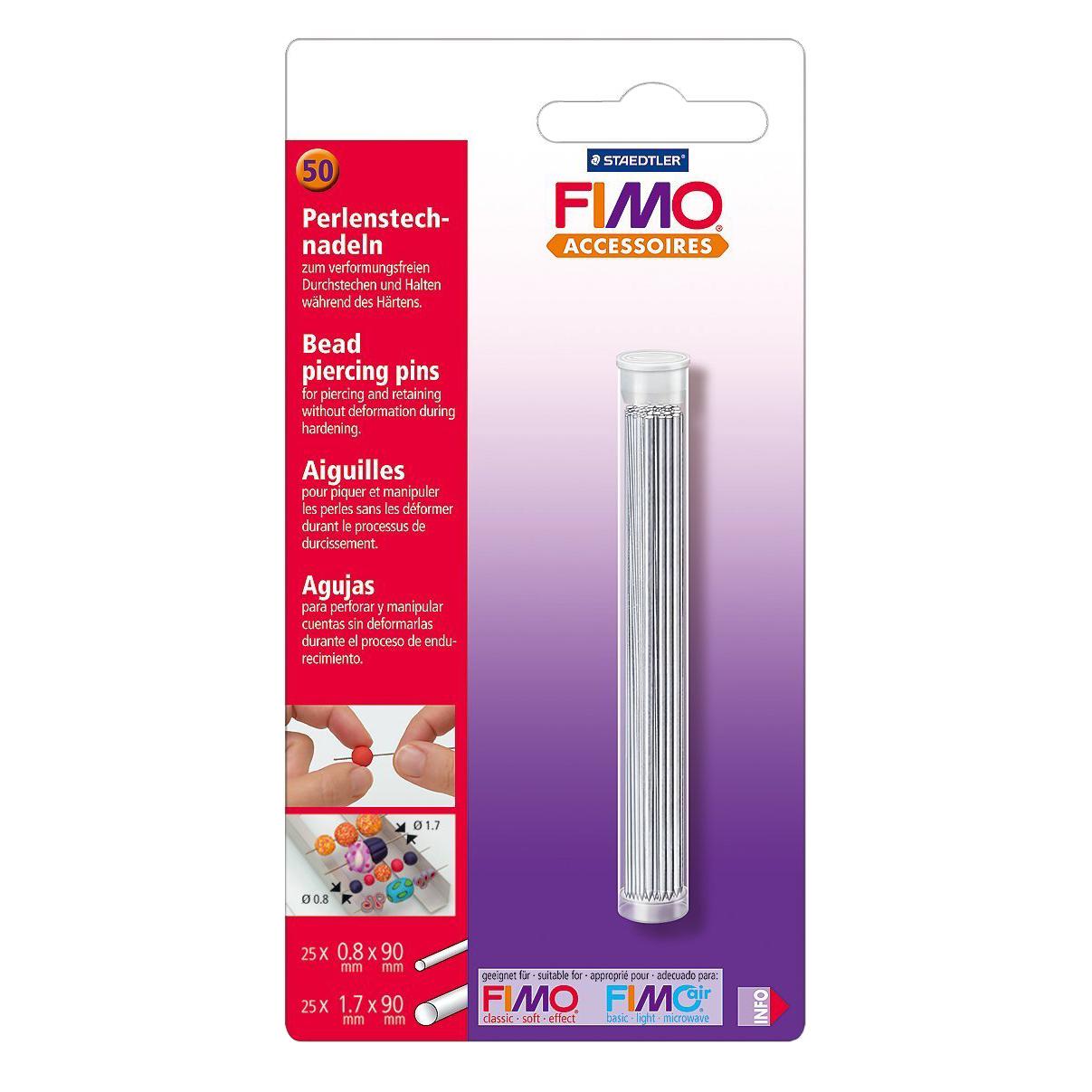 Ace de piercing pentru margele Fimo STH-8712-20