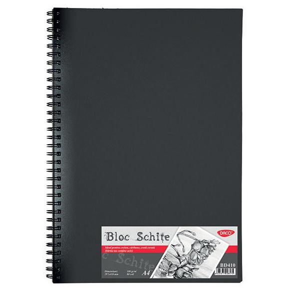 Bloc A4 schite 100gr 80 file Daco BD410