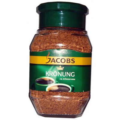 Cafea Instant Jacobs 100g Kronung borcan 1018