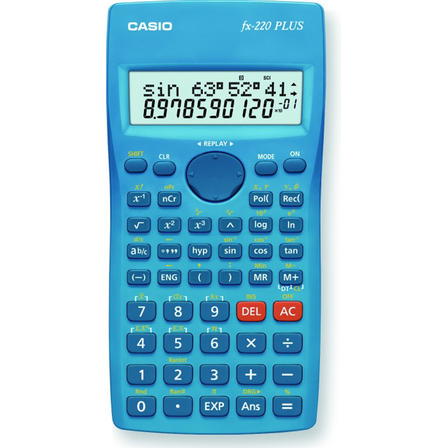 Calculator stiintific Casio FX-220 PLUS FX22