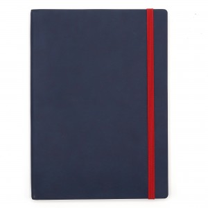 Agenda cu elastic A5 Velvet navy 11620655