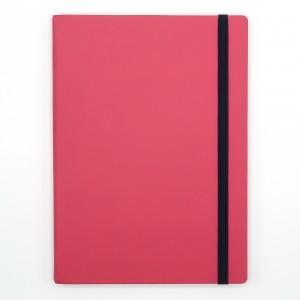 Agenda cu elastic A5 Velvet roz 11620630