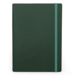 Agenda cu elastic A5 Velvet verde smarald 11620645