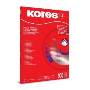 Indigo A4 albastru scriere manuala Kores KO78478