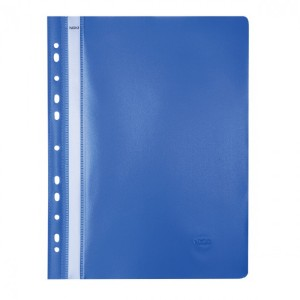 Dosar PVC Noki cu sina si multiperforatii bleumarin NK482011140