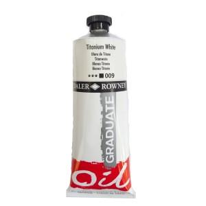Culoare ulei gradulata 200ML Titanium White 009 FL117200009