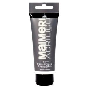 Culoare Maimeri acrilico 75 ml titanium white 0916018