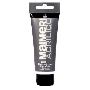Culoare Maimeri acrilico 75 ml zinc white 0916020