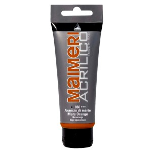 Culoare Maimeri acrilico 75 ml mars orange 0916060