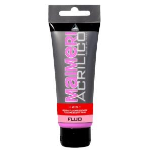 Culoare Maimeri acrilico fluorescent 75 ml fluorescent pink 0916215