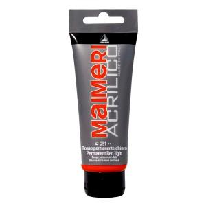 Culoare Maimeri acrilico 75 ml permanent red light 0916251