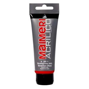 Culoare Maimeri acrilico 75 ml vermilion 0916280