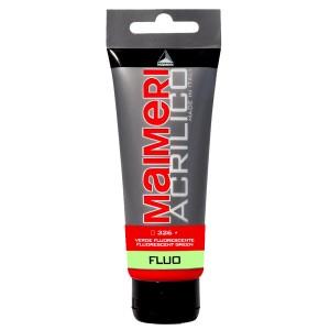 Culoare Maimeri acrilico fluorescent 75 ml fluorescent green 0916326