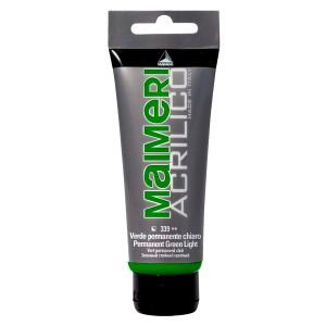 Culoare Maimeri acrilico 75 ml permanent green light 0916339