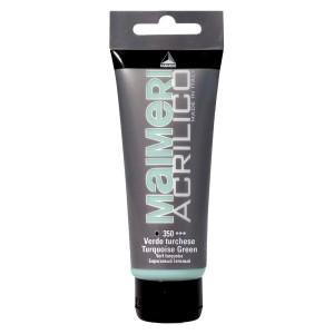 Culoare Maimeri acrilico 75 ml turquoise green 0916350