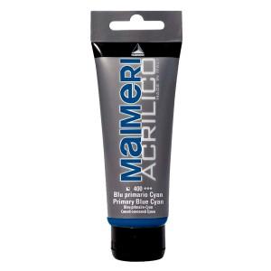 Culoare Maimeri acrilico 75 ml primary blue cyan 0916400