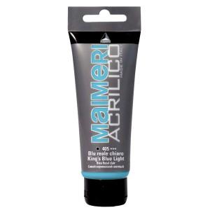 Culoare Maimeri acrilico 75 ml king's blue light 0916405