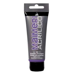 Culoare Maimeri acrilico 75 ml violet ultramarine 0916440