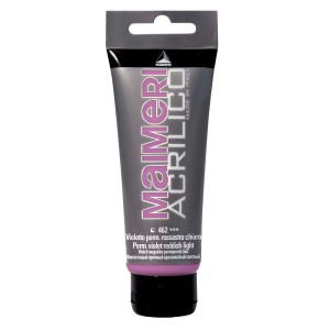 Culoare Maimeri acrilico 75 ml permanent violet reddish light 0916462