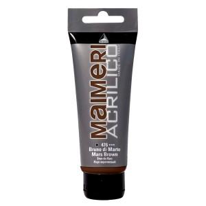 Culoare Maimeri acrilico 75 ml mars brown 0916476