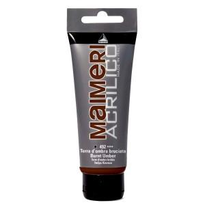 Culoare Maimeri acrilico 75 ml burnt umber 0916492