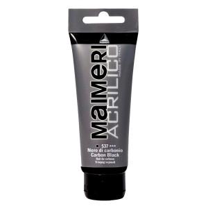 Culoare Maimeri acrilico 75 ml carbon black 0916537