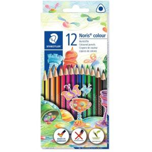 Creioane colorate triunghiulare Staedtler Noris 12/set ST-187-C12