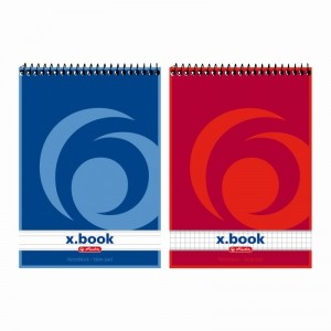 Bloc notes spira Herlitz Xbook A5 50 file matematica / dictando 110536
