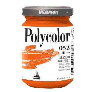 Culoare acrilica Maimeri polycolor 140 ml brilliant orange 1220052