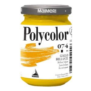 Culoare acrilica Maimeri polycolor 140 ml brilliant yellow 1220074
