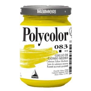 Culoare acrilica Maimeri polycolor 140 ml cadmium yellow medium 1220083