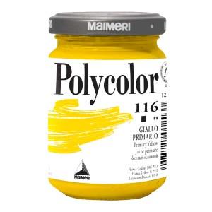 Culoare acrilica Maimeri polycolor 140 ml primary yellow 1220116