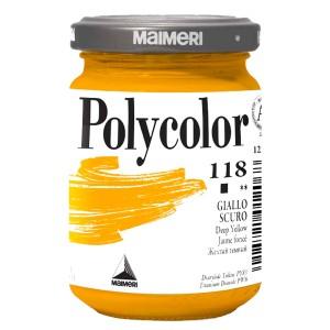 Culoare acrilica Maimeri polycolor 140 ml deep yellow 1220118