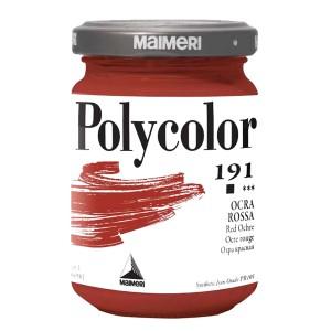 Culoare acrilica Maimeri polycolor 140 ml red ochre 1220191