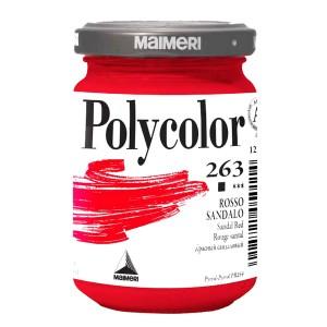 Culoare acrilica Maimeri polycolor 140 ml sandal red 1220263