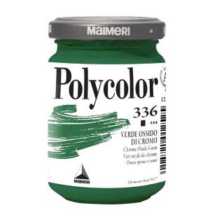 Culoare acrilica Maimeri polycolor 140 ml chrome oxide green 1220336