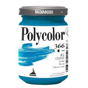 Culoare acrilica Maimeri polycolor 140 ml sky blue 1220366