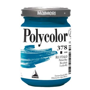 Culoare acrilica Maimeri polycolor 140 ml phthalo blue 1220378