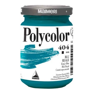 Culoare acrilica Maimeri polycolor 140 ml king's blue 1220404
