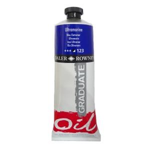 Culoare ulei gradulata 200ML Ultramarine 123 FL117200123