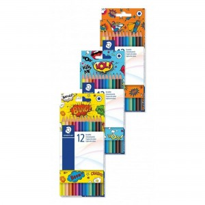 Creioane colorate Staedtler Comic 12/set ST-175-COC12