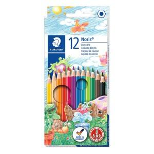 Creioane colorate Staedtler Noris 12 culori / set ST-144-NC12