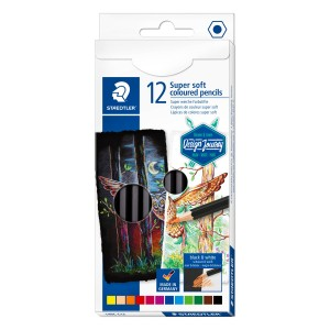 Creion color Staedtler hexagonal 12/set ST-149C-C12