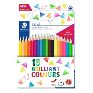 Creion color Ergo Soft Staedtler 18/set ST-157-C18P1