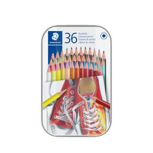 Creioane color Staedtler hexagonale 36buc/cutie ST-175-M36