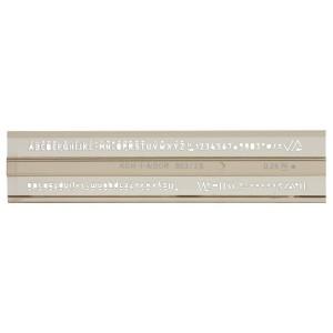 Sablon litere si cifre 2.5mm ISO Koh-i-Noor K748031