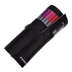 Set fineliner triplus Staedtler 20 culori / set  cu penar negru cadou ST-334-PC20-9