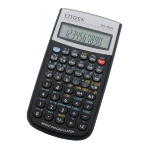 Calculator stiintific Citizen 10+2digi SR260 CZ-SR260